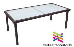 Kerti asztal 200x100 cm-Florida szett