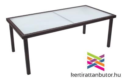 kerti rattan asztal-200x100 cm-Barcelona