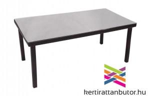 Kerti asztal rattan fonatttal, 180x90 cm