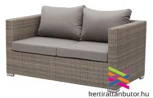 2 személyes rattan kanapé