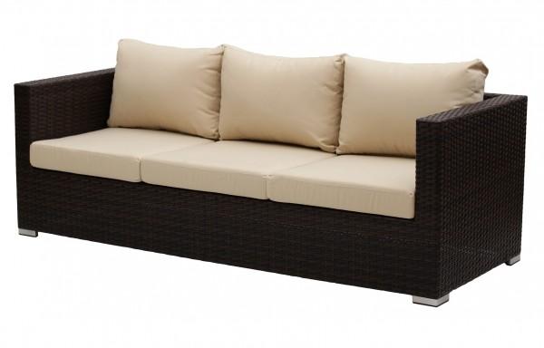 Kerti bútor-Cannes három személyes kerti kanapé